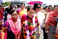 Ngangbam Soniya Chanu at Imphal Airport