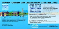 Celebration of World Tourism Day 2013